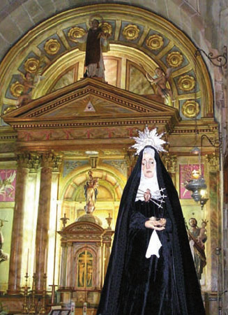 Virgen de la Soledad,porto do Son