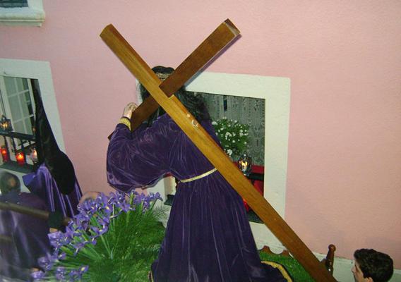 procesión del Nazareno con Vía-Crucis